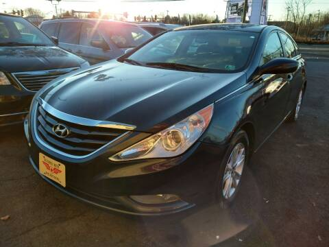 2013 Hyundai Sonata for sale at P J McCafferty Inc in Langhorne PA