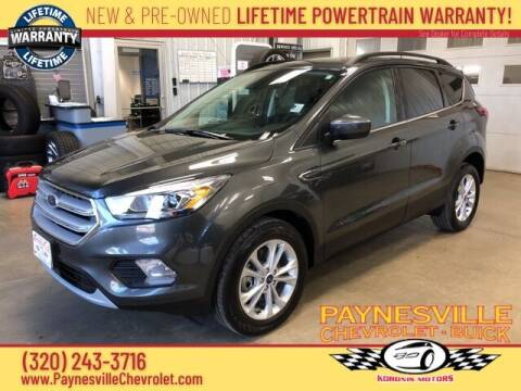 2019 Ford Escape for sale at Paynesville Chevrolet - Buick in Paynesville MN