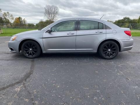 2014 Chrysler 200 for sale at Caruzin Motors in Flint MI