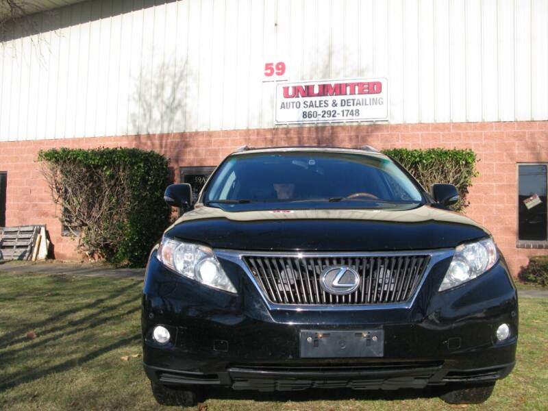 2012 Lexus RX 350 for sale at Unlimited Auto Sales & Detailing, LLC in Windsor Locks CT