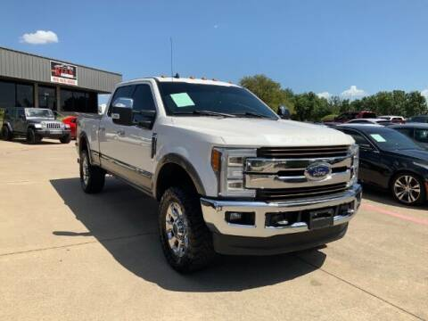 2019 Ford F-350 Super Duty for sale at KIAN MOTORS INC in Plano TX