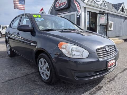2007 Hyundai Accent for sale at Cape Cod Carz in Hyannis MA