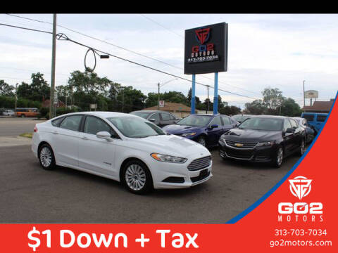 2016 Ford Fusion Hybrid for sale at Go2Motors in Redford MI
