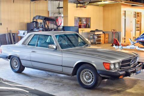 1979 Mercedes-Benz SLC for sale at Hooked On Classics in Watertown MN