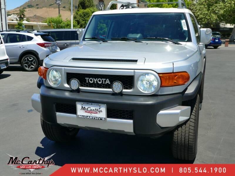 2007 Toyota FJ Cruiser for sale at McCarthy Wholesale in San Luis Obispo CA