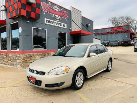 2011 Chevrolet Impala for sale at Chema's Autos & Tires in Tyler TX