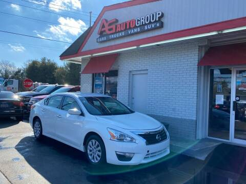 2015 Nissan Altima for sale at AG AUTOGROUP in Vineland NJ