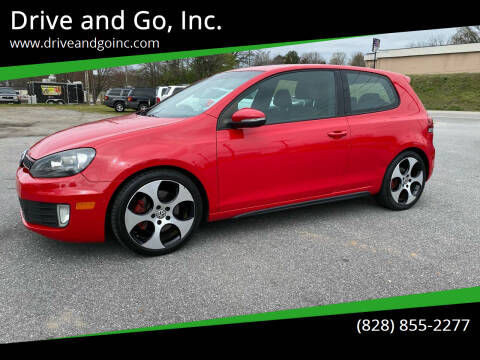 2012 Volkswagen GTI for sale at Drive and Go, Inc. in Hickory NC