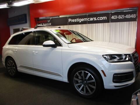 2017 Audi Q7 for sale at Prestige Motorcars in Warwick RI