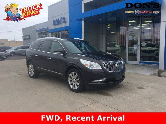 2013 Buick Enclave for sale at DON'S CHEVY, BUICK-GMC & CADILLAC in Wauseon OH