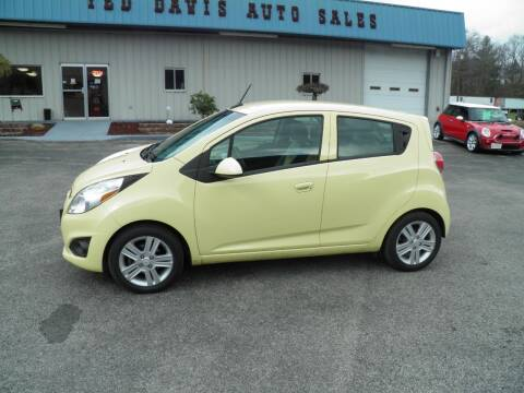 2013 Chevrolet Spark for sale at Ted Davis Auto Sales in Riverton WV