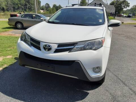 2014 Toyota RAV4 for sale at Cappy's Automotive in Whitinsville MA