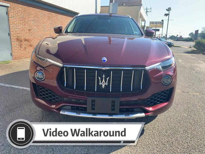 2017 Maserati Levante for sale at City to City Auto Sales in Richmond VA