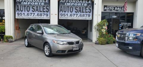 2012 Kia Forte5 for sale at Affordable Imports Auto Sales in Murrieta CA