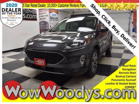 2020 Ford Escape for sale at WOODY'S AUTOMOTIVE GROUP in Chillicothe MO