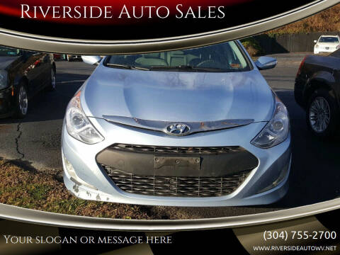 2013 Hyundai Sonata Hybrid for sale at Riverside Auto Sales in Saint Albans WV
