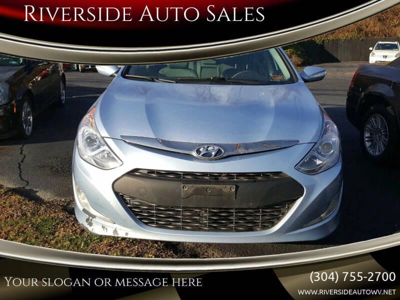 2013 Hyundai Sonata Hybrid for sale at Riverside Auto Sales in Saint Albans WV