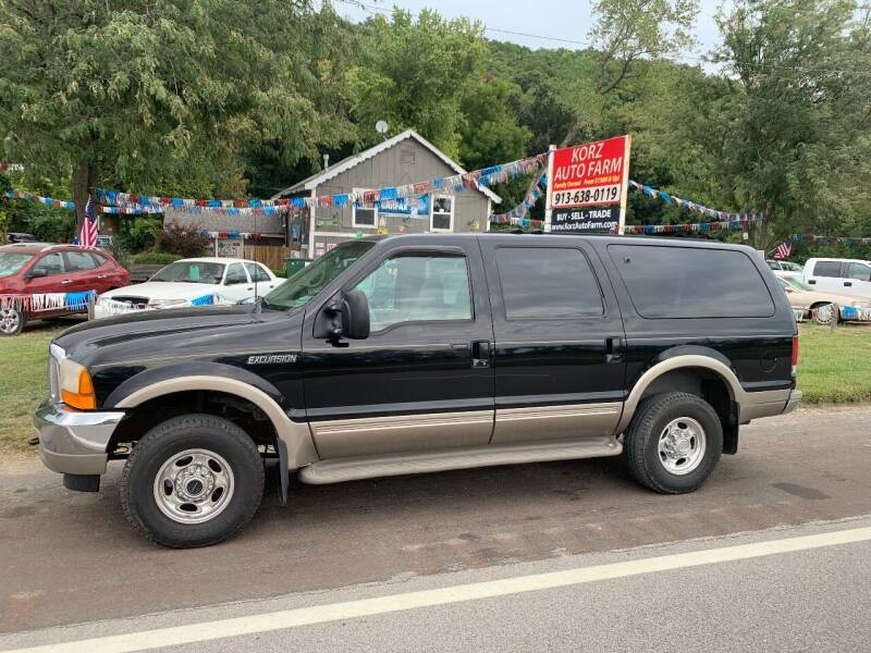 2000 Ford Excursion for sale at Korz Auto Farm in Kansas City KS