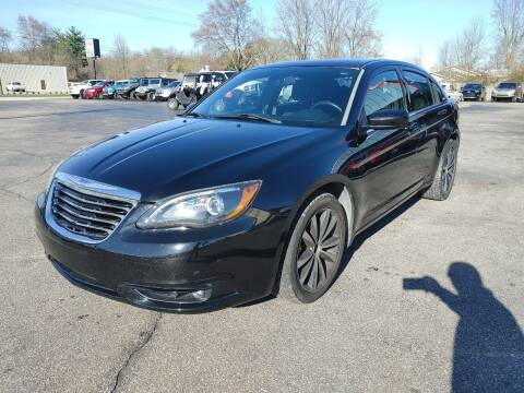 2013 Chrysler 200 for sale at Cruisin' Auto Sales in Madison IN