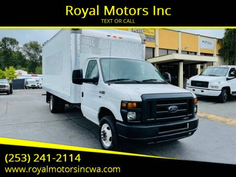 2014 Ford E-Series Chassis for sale at Royal Motors Inc in Kent WA