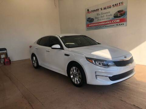 2017 Kia Optima for sale at Antonio's Auto Sales - Antonio`s  3001 in Pasadena TX