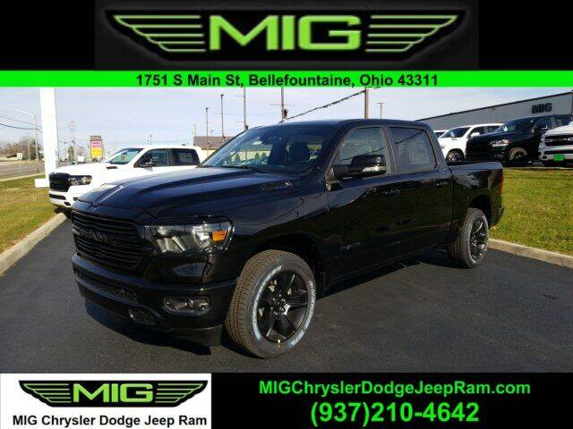 2021 RAM Ram Pickup 1500 for sale at MIG Chrysler Dodge Jeep Ram in Bellefontaine OH