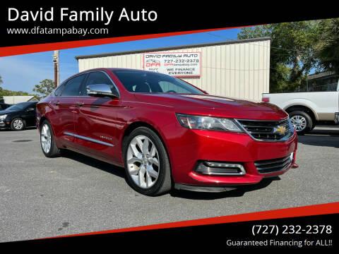 2014 Chevrolet Impala for sale at David Family Auto in New Port Richey FL