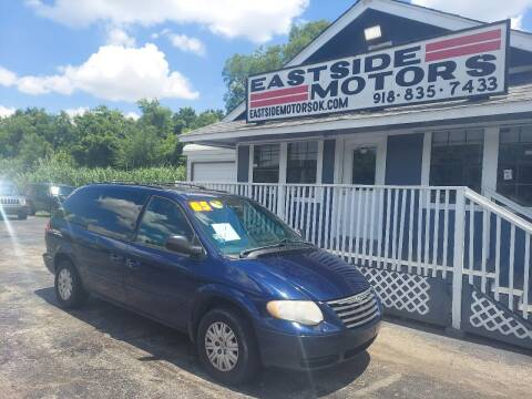 2005 Chrysler Town and Country for sale at EASTSIDE MOTORS in Tulsa OK