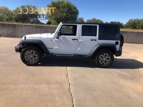 2017 Jeep Wrangler Unlimited for sale at BOB HART CHEVROLET in Vinita OK