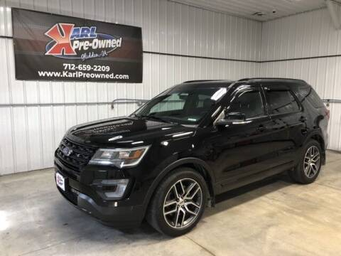 2016 Ford Explorer for sale at Karl Pre-Owned in Glidden IA