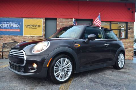 2015 MINI Hardtop 2 Door for sale at ALWAYSSOLD123 INC in North Miami Beach FL