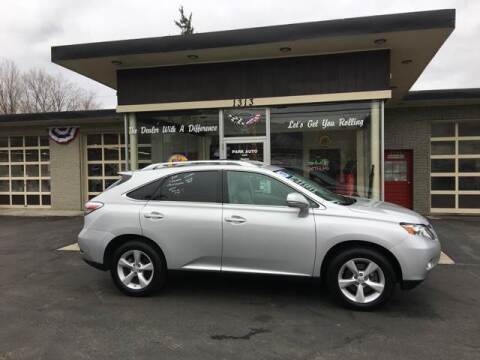 2010 Lexus RX 350 for sale at Park Auto LLC in Palmer MA