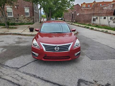 2015 Nissan Altima for sale at EBN Auto Sales in Lowell MA