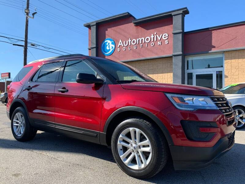 2017 Ford Explorer for sale at Automotive Solutions in Louisville KY
