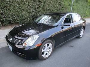 2003 Infiniti G35 for sale at Inspec Auto in San Jose CA