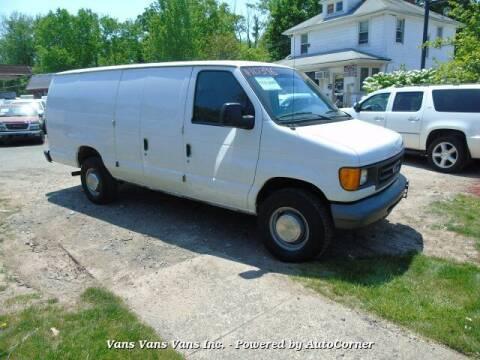 2006 Ford E-Series Cargo for sale at Vans Vans Vans INC in Blauvelt NY