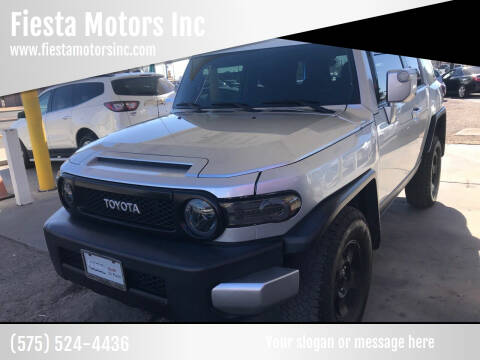 2008 Toyota FJ Cruiser for sale at Fiesta Motors Inc in Las Cruces NM