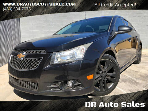 2012 Chevrolet Cruze for sale at DR Auto Sales in Scottsdale AZ