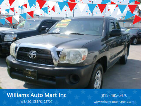 2011 Toyota Tacoma for sale at Williams Auto Mart Inc in Pacoima CA