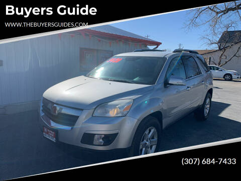 2008 Saturn Outlook for sale at Buyers Guide in Buffalo WY