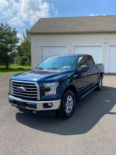2017 Ford F-150 for sale at Interstate Fleet Inc. Auto Sales in Colmar PA