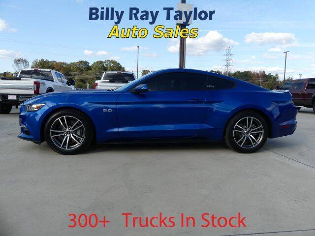 2017 Ford Mustang for sale at Billy Ray Taylor Auto Sales in Cullman AL