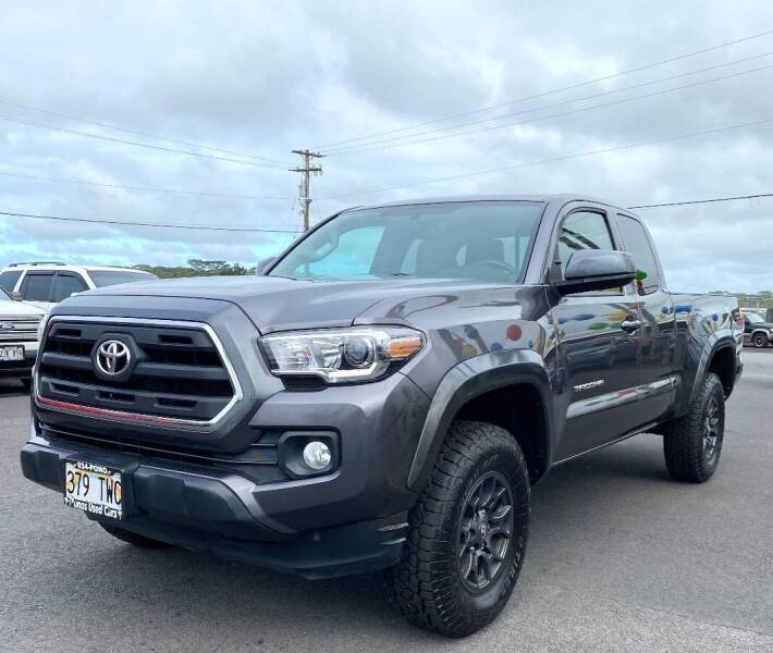 2017 Toyota Tacoma for sale at PONO'S USED CARS in Hilo HI