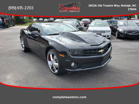 2010 Chevrolet Camaro for sale at Complete Auto Center , Inc in Raleigh NC