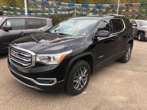 2018 GMC Acadia for sale at Matt Jones Preowned Auto in Wheeling WV