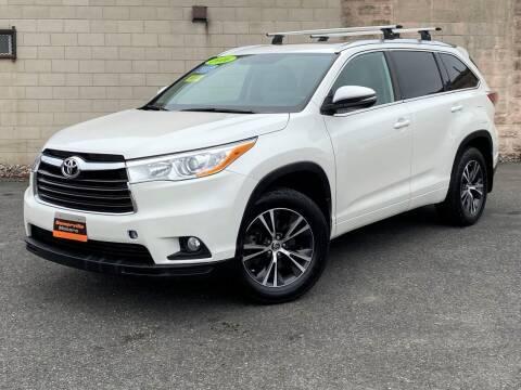2016 Toyota Highlander for sale at Somerville Motors in Somerville MA