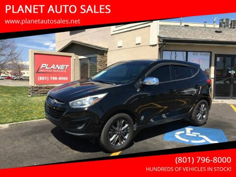 2015 Hyundai Tucson for sale at PLANET AUTO SALES in Lindon UT