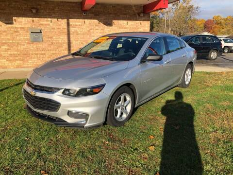 2016 Chevrolet Malibu for sale at Murdock Used Cars in Niles MI