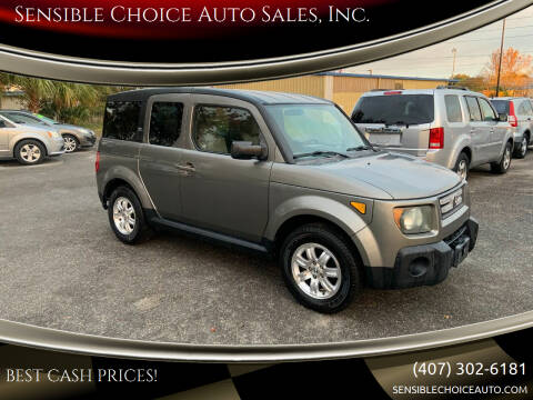 2007 Honda Element for sale at Sensible Choice Auto Sales, Inc. in Longwood FL