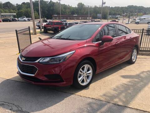 2018 Chevrolet Cruze for sale at Greg's Auto Sales in Poplar Bluff MO